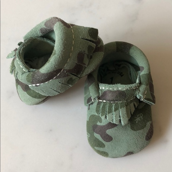 Freshly Picked Shoes | Camo Moccasins